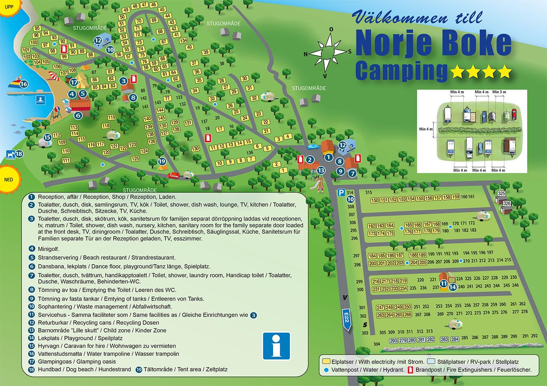 Karta Camping Skane.Norje Boke Camping Norje Boke Camping